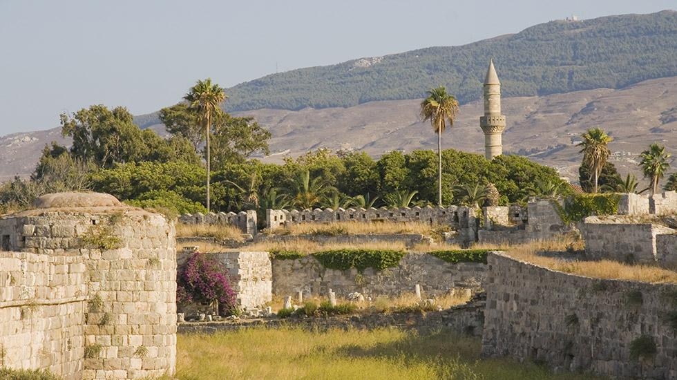Minarets in Kos Island