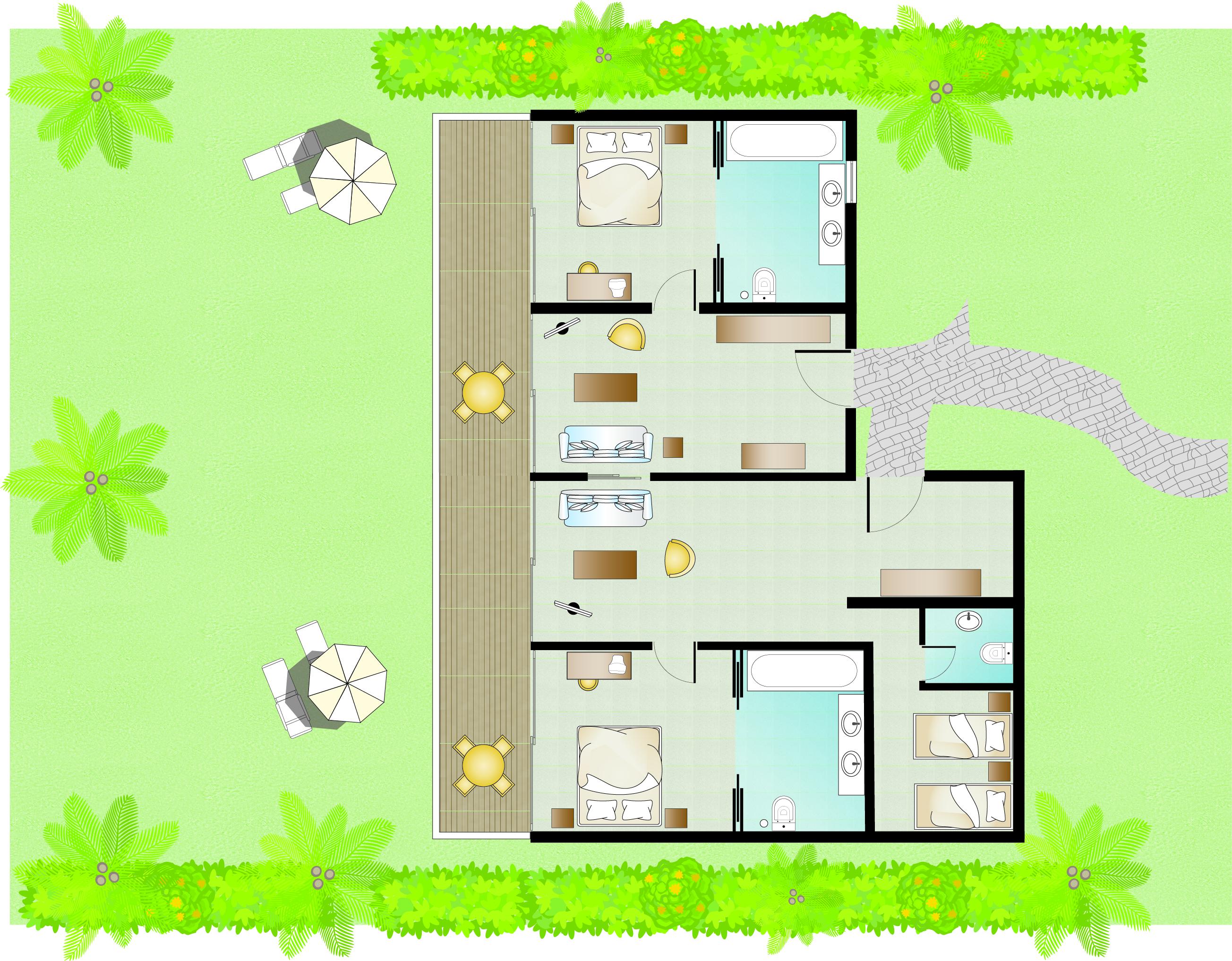 kos-imperial-dream-villa-junior-and-senior-combination